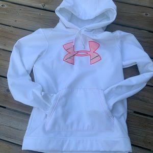 🌷Sz M UNDER ARMOUR hoodie